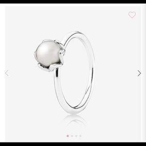 Pandora Cultured Elegance Pearl Ring